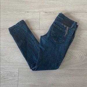 Diesel zivy ankle zip jeans